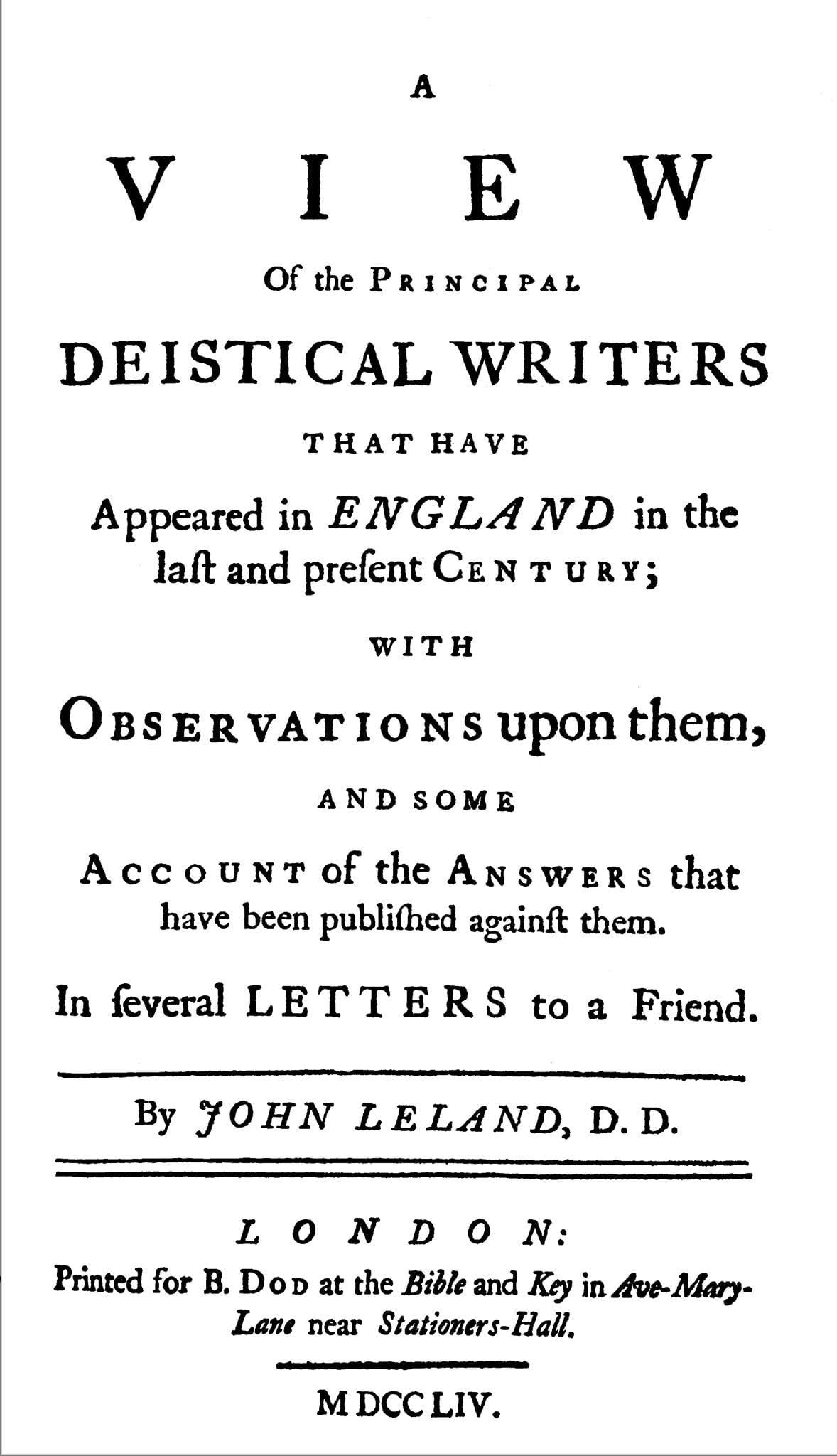 Leland, John