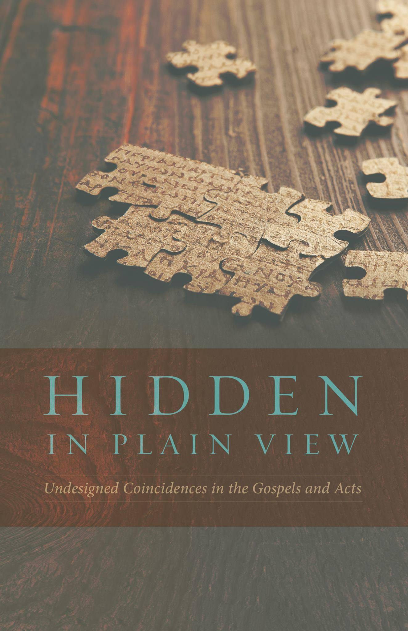New Book Release: Hidden in Plain View by Lydia McGrew